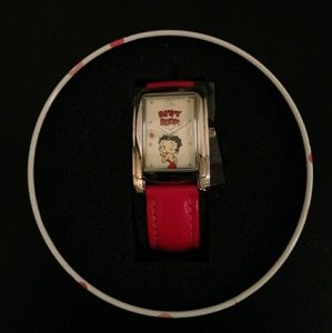 "Betty Boop ""Here's A Kiss"" Watch by Avon"